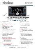 Reproductor de CD/MP3/WMA con entrada AUX - Page 5