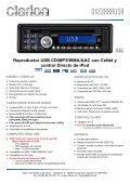 Reproductor de CD/MP3/WMA con entrada AUX - Page 6