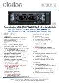 Reproductor de CD/MP3/WMA con entrada AUX - Page 7