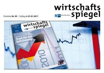 Der wirtschaftsspiegel - Aschendorff Medien Gmbh & Co. KG