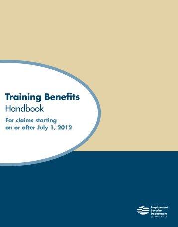 Training Benefits Handbook - Employment Security Home