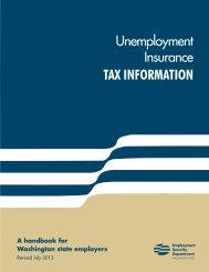 TAX INFORMATION - Employment Security Home
