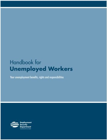 Handbook for Unemployed Workers - Employment Security Home