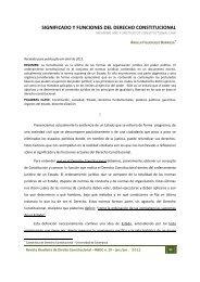 significado y funciones del derecho constitucional - Escola Superior ...