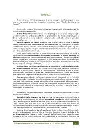 EDITORIAL - Escola Superior de Direito Constitucional