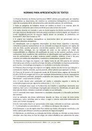 NORMAS PARA APRESENTAÇÃO DE TEXTOS - Escola Superior ...