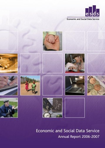 ESDS Annual Report, 2006-2007