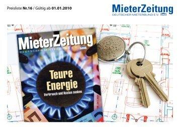 Mieterzeitung - Aschendorff Medien Gmbh & Co. KG