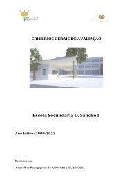 Escola Secundária D. Sancho I - Esds1.pt