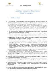 Escola Secundária D. Sancho I 1. CRITÉRIOS DE ... - Esds1.pt