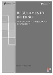 REGULAMENTO INTERNO - Esds1.pt