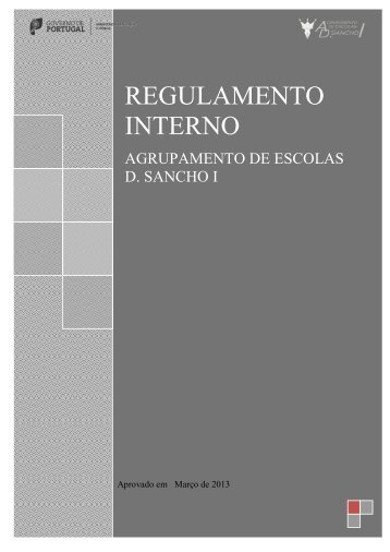 REGULAMENTO INTERNO - Esds1.pt