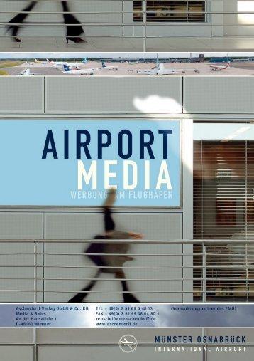 FMO Flughafenwerbung - Aschendorff Medien Gmbh & Co. KG