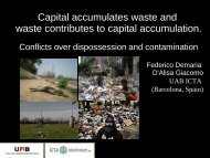 Presentation - ESEE 2011 - Advancing Ecological Economics