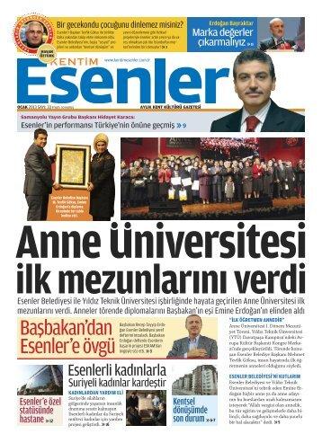 OCAK 2013 - Esenler Belediyesi