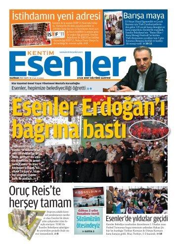 AYLIK KENT KÜLTÜRÜ - Esenler Belediyesi