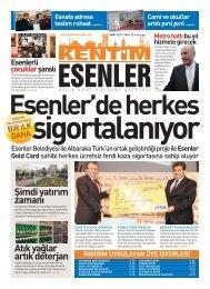 MART 2011 - Esenler Belediyesi