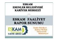ESKAM - Esenler Belediyesi