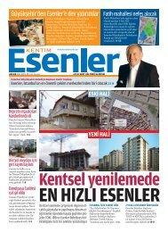 Aralık 2011 - Esenler Belediyesi