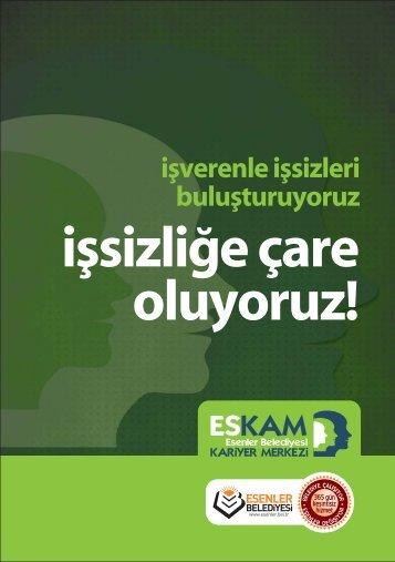 Eskam Tanıtım Broşürü - Esenler Belediyesi