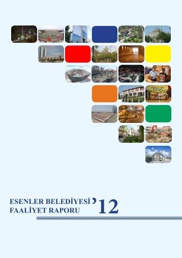 Esenler Belediyesi Faaliyet Raporu 2012