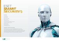 Kompletter Schutz für ihren Computer ESET Smart Security nutzt die ...