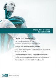 Global Threat Trends November 2008