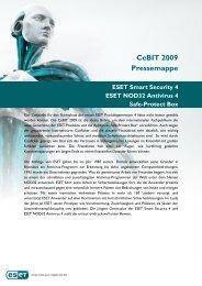 CeBIT 2009 Pressemappe