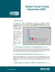 Global Threat Trends – September 2008