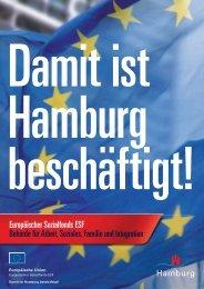 Jährlich profitieren neun Millionen Europäer - ESF in Hamburg
