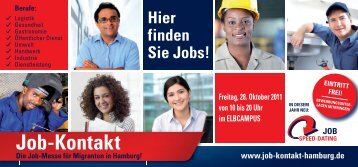 Job-Kontakt - ESF in Hamburg
