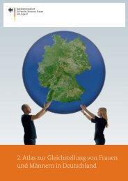 2. Atlas zur Gleichstellung von Frauen und Männern in Deutschland