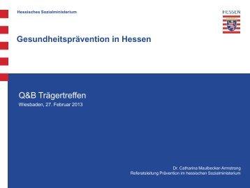 Gesundheitsprävention in Hessen