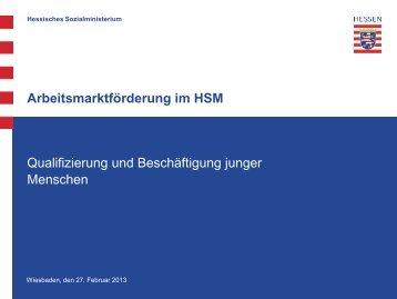 Sachstand QuB in Hessen
