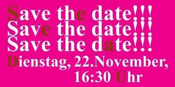 Dienstag, 22.November, 16:30 Uhr - ESF Hessen