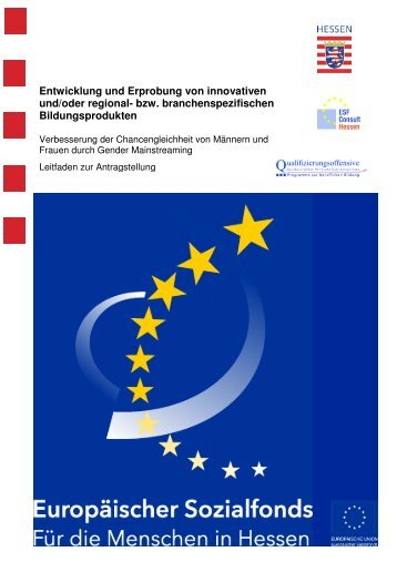 2009-09 GM Leitfaden Bildungsprodukte_Konzepte - ESF Hessen