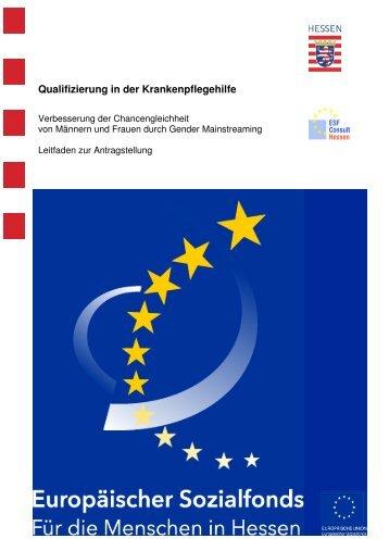 Qualifizierung in der Krankenpflegehilfe - ESF Hessen
