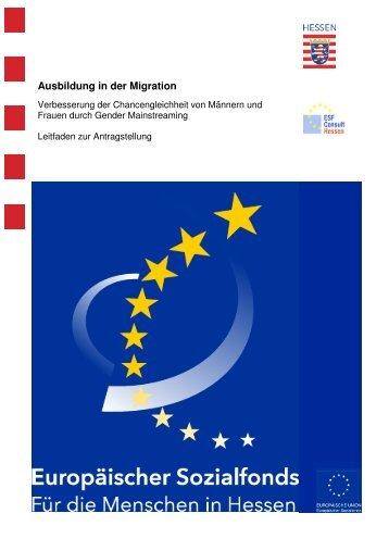 Gender Mainstreaming - ESF Hessen