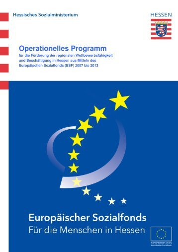 Operationelles Programm - ESF Hessen
