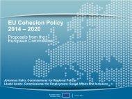 EU Cohesion Policy 2014 - 2020 - European Commission - Europa