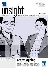 März 2011: Active Ageing (PDF Format) - Europäischer Sozialfonds