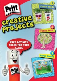 Pritt Creative Projects booklet - YPO