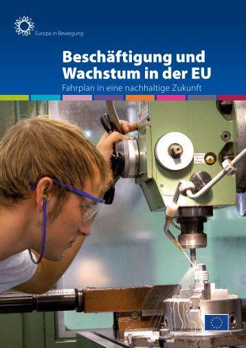 Beschäftigung und Wachstum in der EU - ESF in Brandenburg