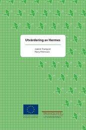 Utvärdering av Hermes_slutrapport.pdf - Svenska ESF-rådet