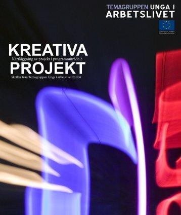 KREATIVA PROJEKT - Svenska ESF-rådet