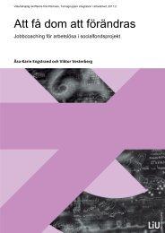 Socialt företagande-rapporten - Svenska ESF-rådet