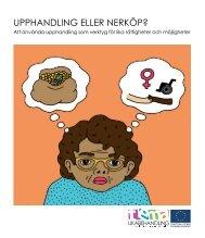 UPPHANDLING ELLER NERKÖP? - Svenska ESF-rådet