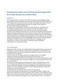 Kompetensutveckling med inriktning på arbetsorganisation för ett ... - Page 3