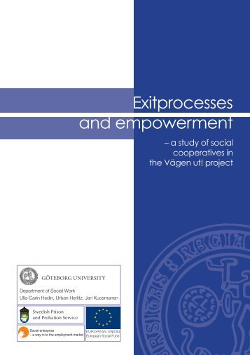 Exitprocesses and empowerment