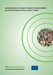 Sourcebook on reSultS baSed management in the european ...